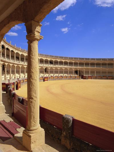 Plaza De Toros (Bull Ring) Dating from 1785, Ronda, Andalucia (Andalusia), Spain, Europe-Gavin Hellier-Photographic Print