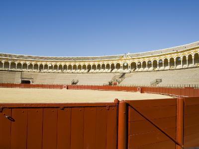 Plaza De Toros De La Maestranza, El Arenal District, Seville, Andalusia, Spain-Robert Harding-Photographic Print