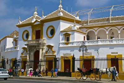 Plaza De Toros, Seville, Andalusia, Spain, Europe-Guy Thouvenin-Photographic Print