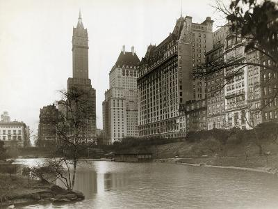 Plaza Hotel as Seen from Central Park--Photographic Print