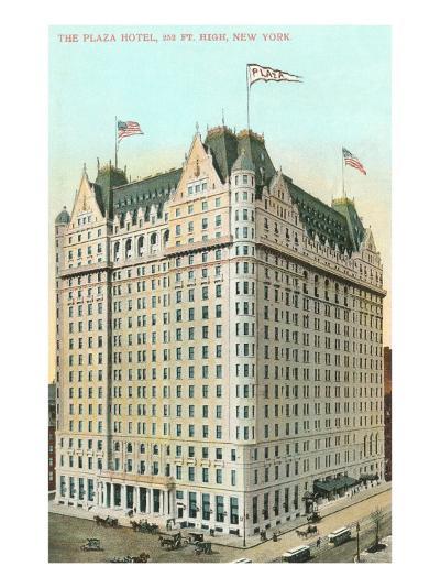 Plaza Hotel, New York City--Art Print