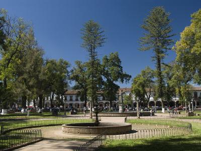 Plaza Vasco De Quiroga, Patzcuaro, Michoacan, Mexico, North America-Richard Maschmeyer-Photographic Print
