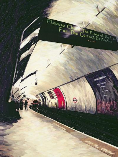 Please Check the Front of the Train... 1998-Ellen Golla-Giclee Print