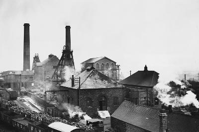 Pleasley Colliery in Derbyshire--Photographic Print