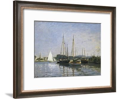 Pleasure Boats, Argenteuil-Claude Monet-Framed Art Print