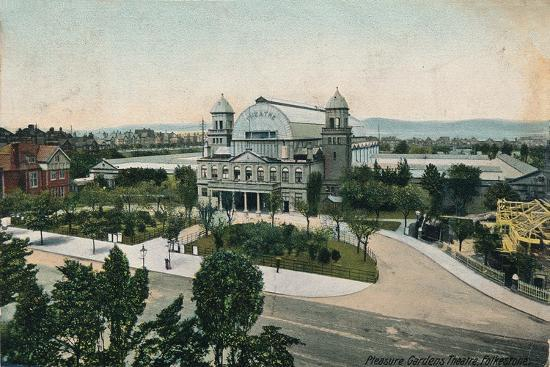 'Pleasure Gardens Theatre, Folkestone', late 19th-early 20th century-Unknown-Giclee Print