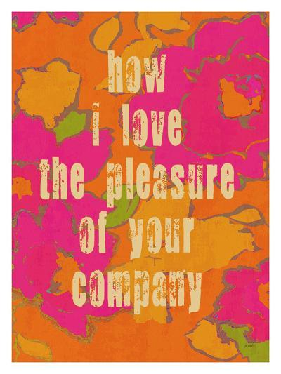 Pleasure Of Your Company-Lisa Weedn-Giclee Print