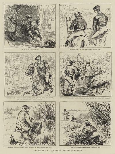 Pleasures of Amateur Steeple-Chasing--Giclee Print