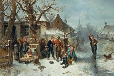 Pleasures of Winter-Mari Ten Kate-Giclee Print