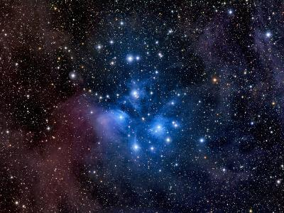 Pleiades, also known as the Seven Sisters-Stocktrek Images-Photographic Print
