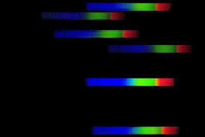 Pleiades Emission Spectra-Dr. Juerg Alean-Photographic Print