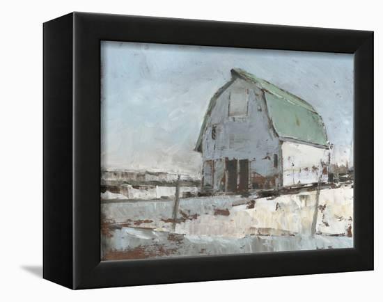 Plein Air Barn I-null-Framed Stretched Canvas