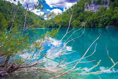 Plitvice Lakes National Park, the Largest National Park in Croatia, UNESCO World Heritage-siempreverde22-Photographic Print