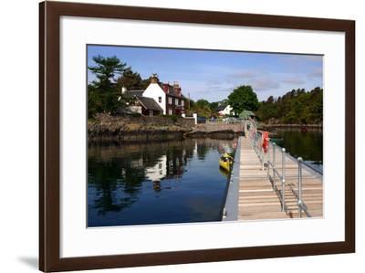 Plockton, Highland, Scotland-Peter Thompson-Framed Photographic Print