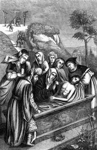 The Entombment, C15th Century by Plon Freres