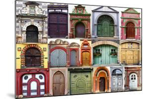 Collage Of The Ancient Unique Doors by plotnikov