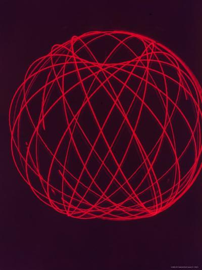 Plotting of Orbit of Sputnik I by Scientists at MIT-Dmitri Kessel-Photographic Print