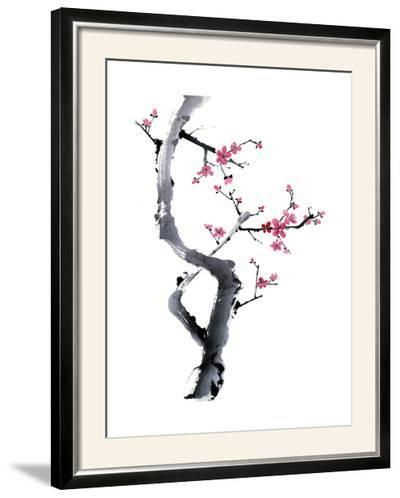 Plum Blossom Branch I-Nan Rae-Framed Photographic Print