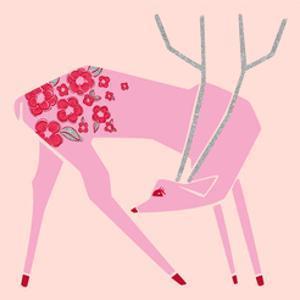 Plum Blossom Deer