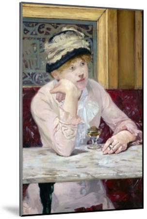 Plum Brandy by ‰Douard Manet-?douard Manet-Mounted Giclee Print
