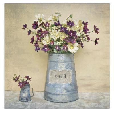 Plum Daisies-Cristin Atria-Art Print