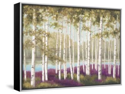 Plum Forest Floor-Jill Schultz McGannon-Framed Canvas Print