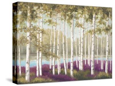Plum Forest Floor-Jill Schultz McGannon-Stretched Canvas Print
