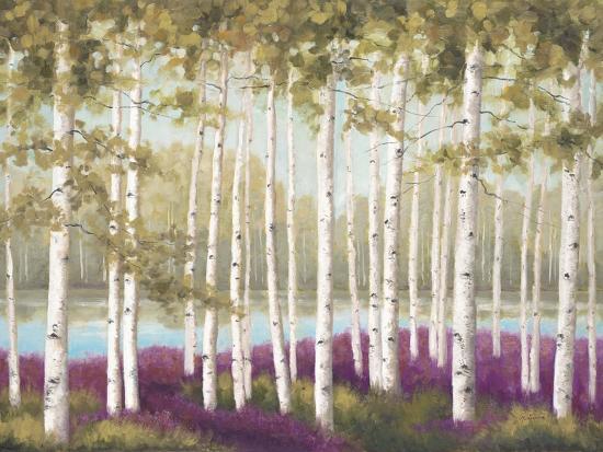 Plum Forest Floor-Jill Schultz McGannon-Art Print