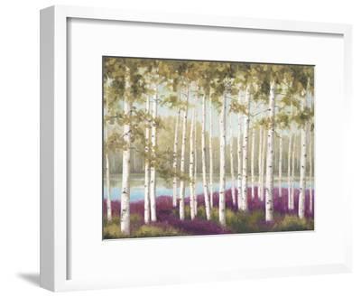 Plum Forest Floor-Jill Schultz McGannon-Framed Art Print