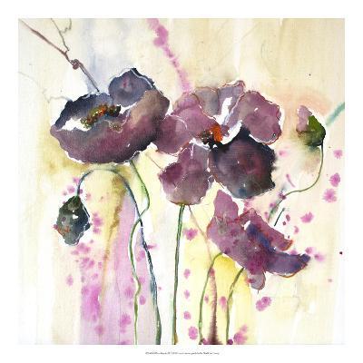 Plum Poppies II-Leticia Herrera-Art Print