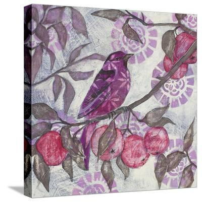 Plum Song I-Kate Birch-Stretched Canvas Print