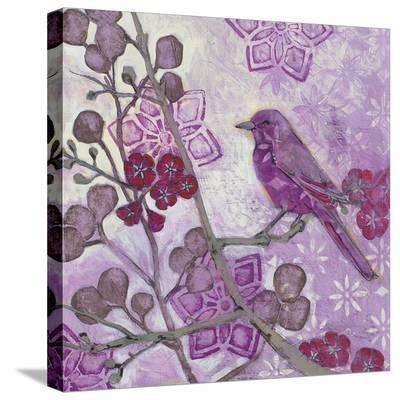 Plum Song II-Kate Birch-Stretched Canvas Print