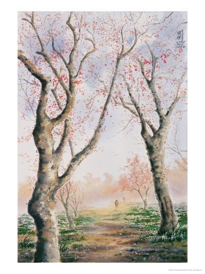 Plum Tree Lovers-Chen Kwodong-Giclee Print