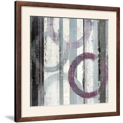 Plum Zephyr II--Framed Photographic Print