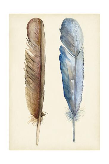 Plumage I-Alicia Ludwig-Art Print