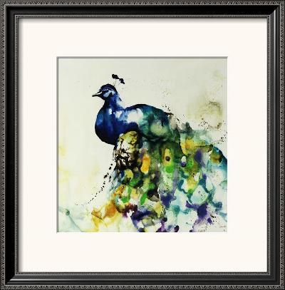 Plumes and Feathers-Sydney Edmunds-Framed Art Print