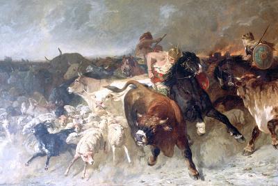 Plunderers, 1867-Evariste Vital Luminais-Giclee Print