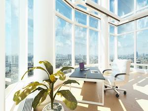 A Modern Office Interior by PlusONE