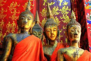Golden Temple at Luang Prabang, Laos by PlusONE