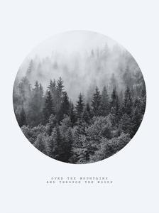 Inspirational Circle Design: Over the Mountains and Through the Woods by PlusONE