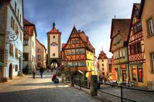 Rothenburg Ob Der Tauber - Medieval City in Germany by PlusONE