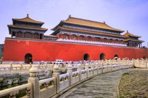 Temples of the Forbidden City in Beijing China by PlusONE