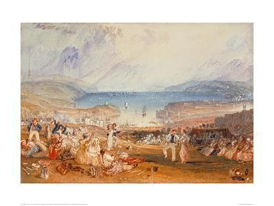 Plymouth, Devonshire, 1830-J^ M^ W^ Turner-Giclee Print
