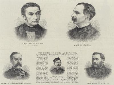 Plymouth Dignitaries--Giclee Print