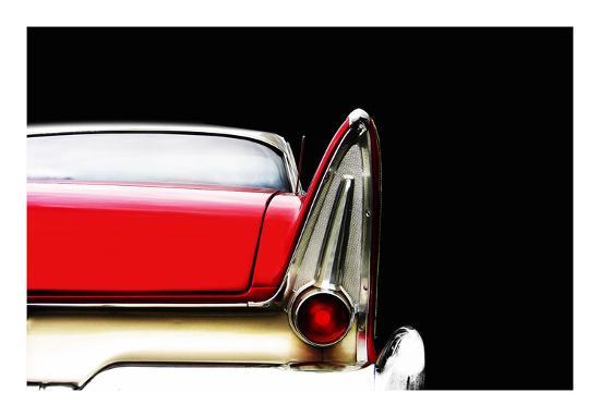 Plymouth Fury Detail-Mark Rogan-Giclee Print