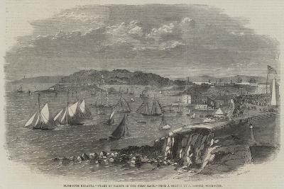 Plymouth Regatta, Start of Yachts in the First Race--Giclee Print