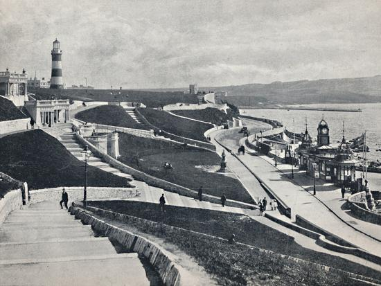 'Plymouth - The Hoe', 1895-Unknown-Photographic Print