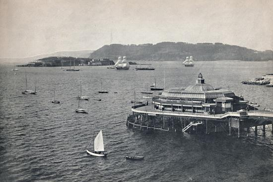 'Plymouth - The Pier', 1895-Unknown-Photographic Print