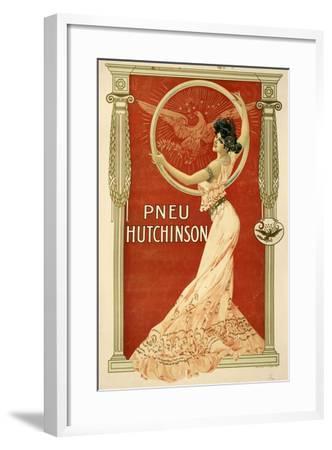 Pneu Hutchinson--Framed Giclee Print