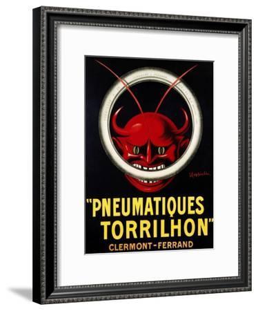 Pneumatiques Torrilhon-Leonetto Cappiello-Framed Art Print
